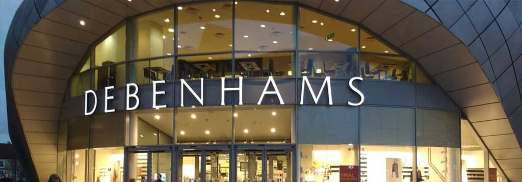 Debenhams Exchange Rate Photo