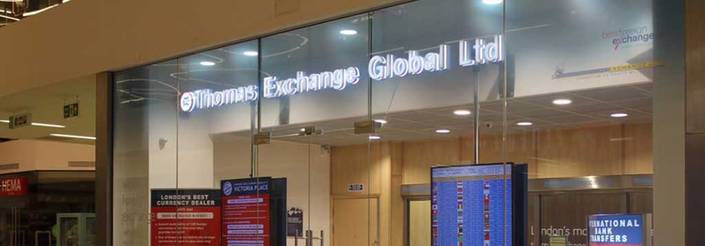 Thomas Global Exchange Rate Photo