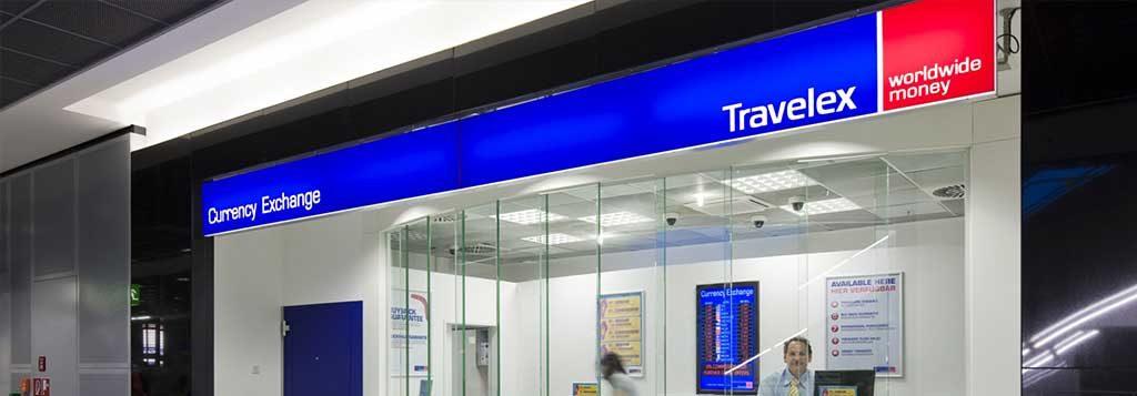 Travelex Exchange Rate Photo