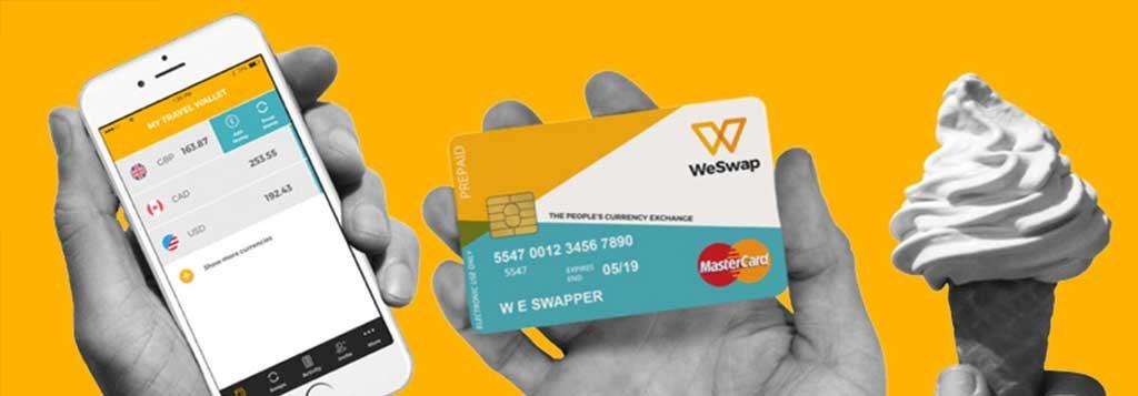 WeSwap Exchange Rate Photo